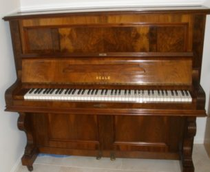 When was my Australian Beale Piano made?