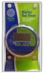 Aqua Systems Electronic Digital Tap Timer Instruction Manual